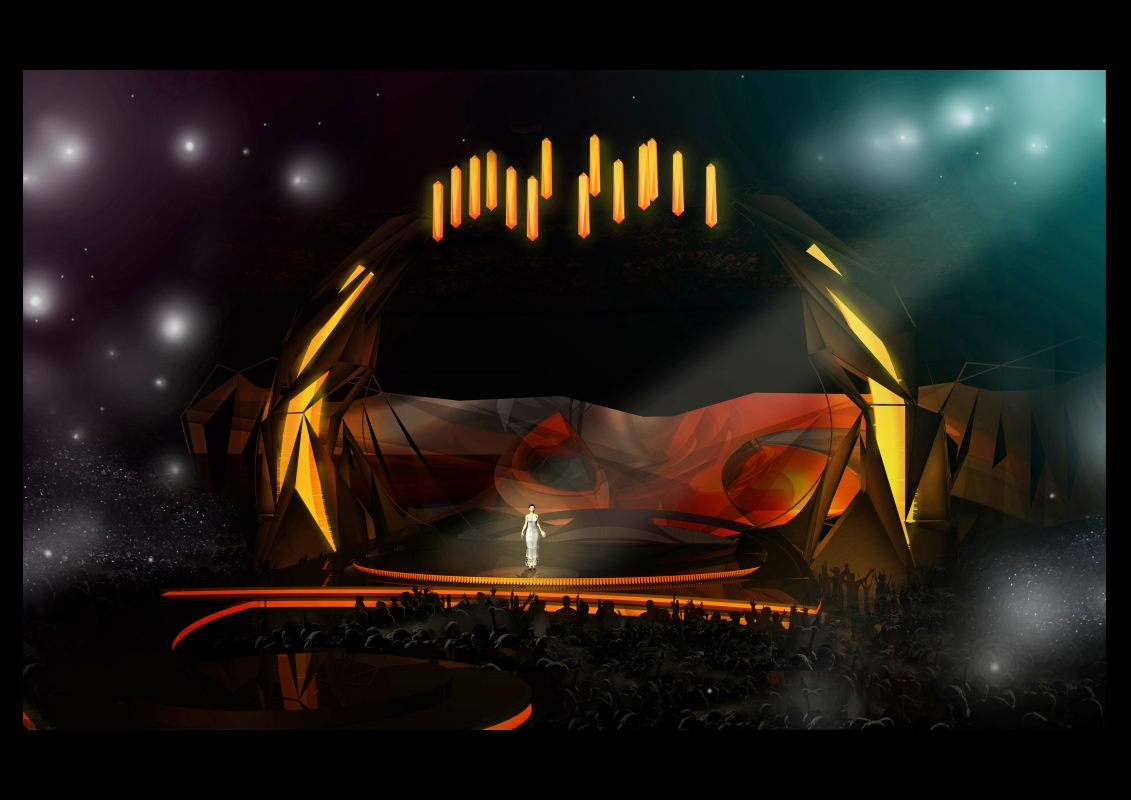 eurovision stage design revealed the eurovision times