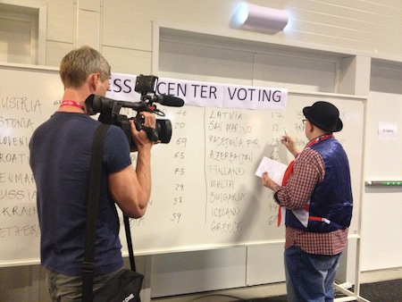 press centre voting