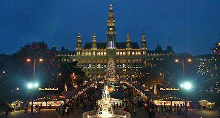 Vienna rathausplatz