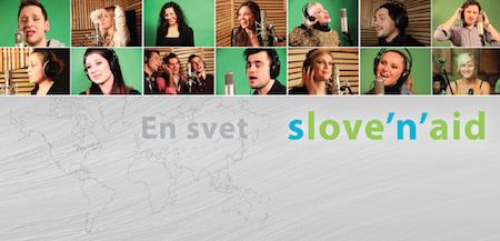 Slove'n'aid banner