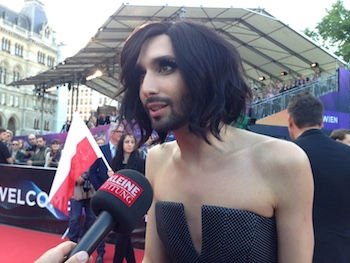 Conchita 2 Red Carpet