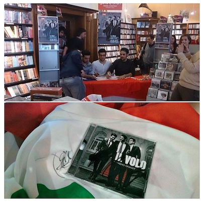 Il Volo signing