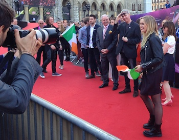 Ireland red carpet