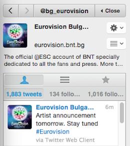 Bulgaria tweet