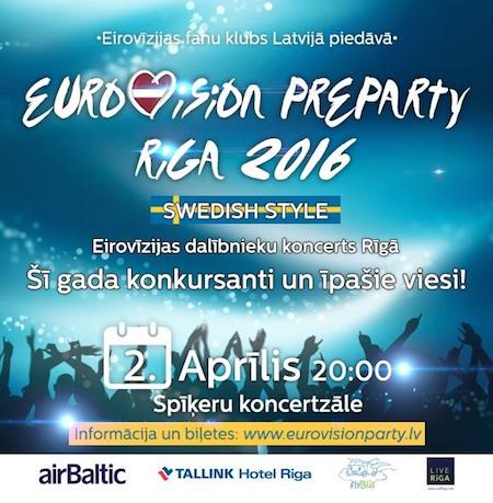 Riga pre-party 2016