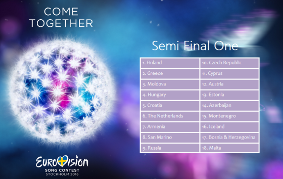 2016 Semi Final 1
