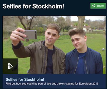 UK selfies
