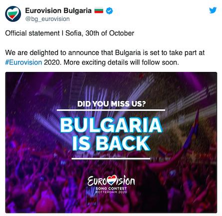 bulgaria back